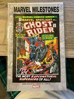 Marvel Milestones Spotlight 5 Ghost Rider 0 (2005) Black Widow & Iceman FREESHIP