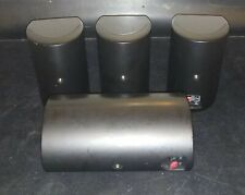 SET OF 4 KLIPSCH HD 300 HOME THEATER STEREO SURROUND SPEAKERS