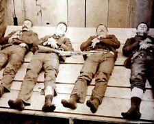 """Memento Mori of the Dalton Gang Gun Fighter Bank Robbers 8""""x 10"""" Photo 78"""