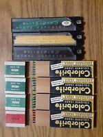 "Vintage Eberhard Faber No 3100 Colorbrite leads .079"" DIA Green, Yellow and Red"