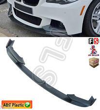BMW 5 SERIES F10 F11 M SPORT FRONT DIFFUSER SPLITTER PERFORMANCE LIP SPOILER