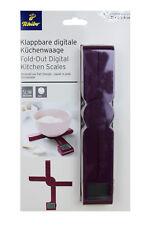 TCM Tchibo klappbare digitale Küchenwaage Küchen Waage