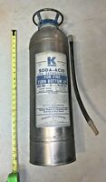 Antique empty fire extinguisher KIDDE soda acid,  Used. Good shape, dry