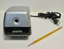 X Acto Electric Pencil Sharpener Model 19xx School Office Home