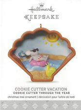 Hallmark 2017 Vacation Cookie Cutter Ornament 6th in the Series