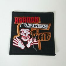THE MISFITS PATCH Embroidered Iron On HORROR BUSINESS Band SKULL FACE Punk NEW