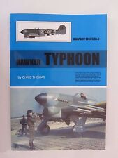 Warpaint 5 - Hawker Typhoon - Color Profiles, Line Drawings, Photos