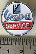 Vespa Service Metal Pin Badge