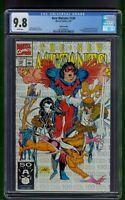 New Mutants #100 (1991) CGC Graded 9.8 1st Appear X-Force Rob Liefeld  3rd Print