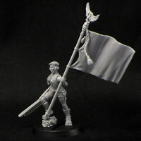 Female Standard-Bearer Female Brigade Brother Vinni
