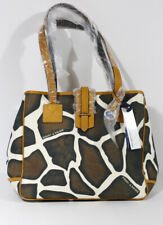 BRAND NEW DOONEY & BOURKE MEDIUM TOTE HANDBAG Giraffe Print