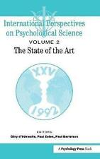 International Perspectives On Psychological Science, II: The State of the Art (