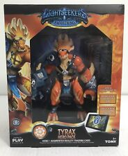Lightseekers Tyrax Hero Pack Action Figure Hero And Augmented Trading Card