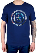 Official Marvel Comics Captain America Knock-Out T-Shirt New Merch Hulk Iron Man