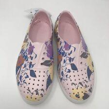 Native Jericho Women's Size 5 Milk Pink Shell White Shoes
