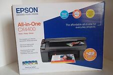 Epson Stylus CX4400 All-In-One Inkjet Printer 24ppm USB 48Bit CIS C11C688201 NEW