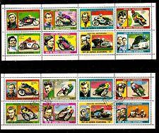 GUINEE EQUATORIALE  LES MOTOS: Tous les AS du motorisme  C187