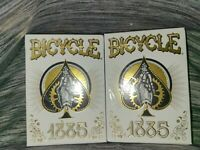 (2) Bicycle 1885 Anniversary Playing Cards