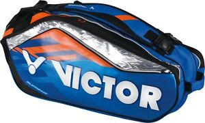 *NEW* Victor MultiThermo Racket Bag BR9308 - BLUE/ORANGE - for ALL racket sports