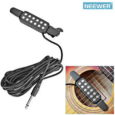 Neewer 12 Hole Sound Pickup Microphone Amplifier Speaker for Acoustic Guitar