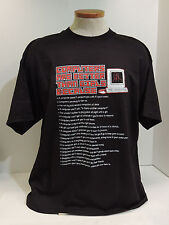 Computers Are Better Than Girls Because T-Shirt Funny Geek Humor Size XL - NWT
