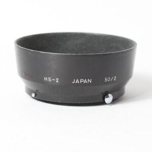 Nikon HS-2 Metal Lens Hood for Nikkor 50mm F2