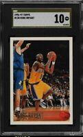 1996 - 97 Topps Kobe Bryant Rookie #138 SGC 10 PRISTINE GOLD LABEL BGS 10 ? GEM