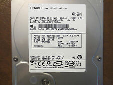 Hitachi HDT721064SLA360 PN:0A39990 MLC:BA3064 Apple#655-1527A 640gb Sata HDD