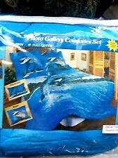 DOLPHINS,  PHOTO GALLERY, TWIN COMFORTER SET