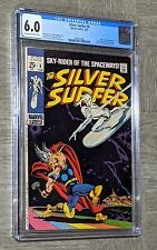 Silver Surfer #4 CGC 6.0 Marvel 1969 Stan Lee John Buscema Thor vs SS Cover Loki