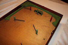 (AA-10826) ANTIQUE G-MAN HOCKEY, Early 1900's Table Game, RARE RARE RARE RARE!!!