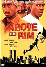Above the Rim DVD Basketball Movie Drama Tupac Shakur Marlon Wayans NEW
