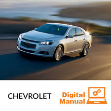 Chevrolet Car - Service and Repair Manual 30 Day Online Access