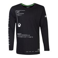 MICROSOFT Xbox Ready to Play Long Sleeved Shirt Male Small Black (LS271133XBX-S)