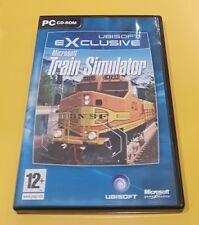 Microsoft Train Simulator GIOCO PC INGLESE