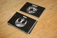 Monopoly Star Wars Twenty Years edition - replacement Rebel & Imperial cards set