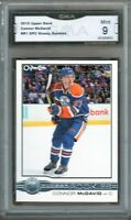 GMA 9 Mint CONNOR McDAVID 2005 Upper Deck OPC O-Pee-Chee GLOSSY ROOKIE CARD!