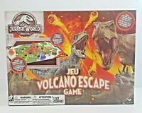 Jurassic World Volcano Escape JEU Board Game New 3D Board Ages 5+