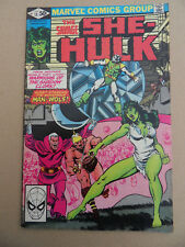Savage She-Hulk 13 . Marvel 1981 . FN / VF