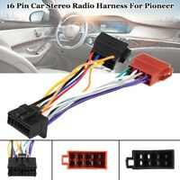 Car Stereo Radio ISO Wiring Harness Connector Adaptor Cable Loom For Pioneer