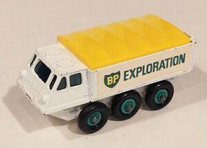 61-B2 EXC! Alvis Stalwart BP Exploration Lesney Matchbox circ '66