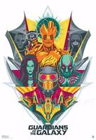 GUARDIANS OF THE GALAXY GROOT DESIGN MOVIE POSTER FILM A4 A3 ART PRINT CINEMA