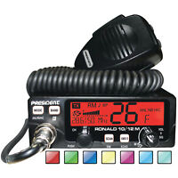 CB Mobile Radio President Ronald 10/12m 50+ Watts PEP AM FM 2 Emergency Channel