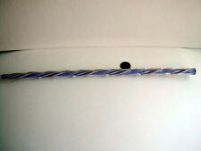 Rare Twisted Striped Glass Venetian Bead Cane