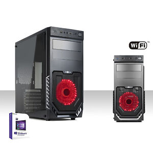 PC DESKTOP INTEL QUAD CORE WIFI/RAM 8GB/HD 1TB/WINDOWS 10/HDMI,DVI,VGA COMPLETO