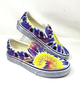 VANS Vans Classic Slip On Washed Tie-Dye Canvas Women's Sneakers VN0A4U3819X