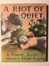 A Riot Of Quiet Collectible Vintage Children's Book Rare