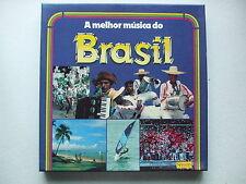 BRASIL - THE BEST MUSIC FROM BRAZIL 8LP BOX JORGE BEN CHICO BUARQUE ELIS REGINA