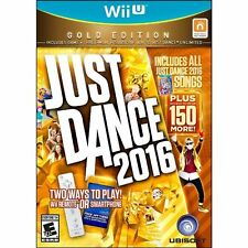 Nintendo JUST DANCE 2016 GOLD Edition for Wii U Brand New SEALED Same Day Ship