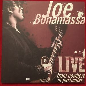 "JOE BONAMASSA  ""FROM NOWHERE IN PARTICULAR""  LPX3  2008  JR  ADVENTURES  USA  M-"